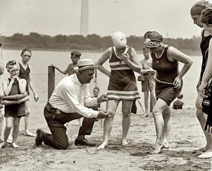 Beach policeman 1922 mod
